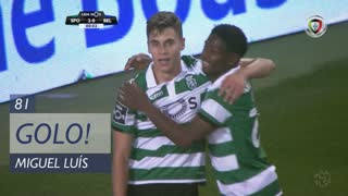 GOLO! Sporting CP, Miguel Luís aos 80', Sporting CP 2-0 Belenenses