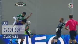 GOLO! Moreirense FC, Sílvio (p.b.) aos 35', Moreirense FC 1-1 Vitória FC