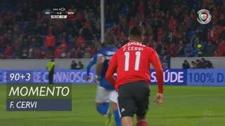 SL Benfica, Jogada, F. Cervi aos 90'+3'