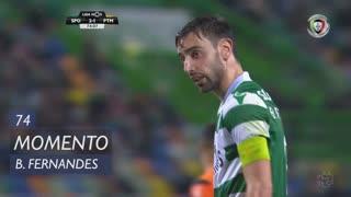 Sporting CP, Jogada, Bruno Fernandes aos 74'