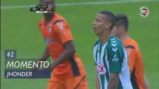 Vitória FC, Jogada, Jhonder aos 42'