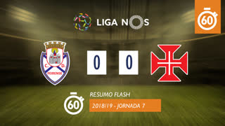 Liga NOS (7ªJ): Resumo Flash CD Feirense 0-0 Belenenses SAD