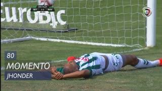 Vitória FC, Jogada, Jhonder aos 80'