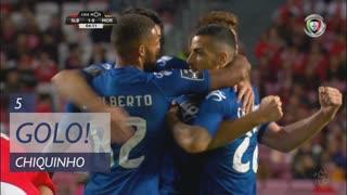 GOLO! Moreirense FC, Chiquinho aos 5', SL Benfica 1-1 Moreirense FC