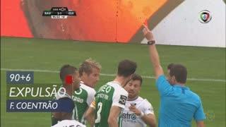Rio Ave FC, Expulsão, Fábio Coentrão aos 90'+6'