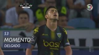 CD Tondela, Jogada, Delgado aos 53'