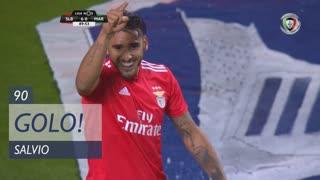 GOLO! SL Benfica, Salvio aos 90', SL Benfica 6-0 Marítimo M.