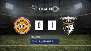 Liga NOS (8ªJ): Resumo CD Nacional 0-1 Portimonense