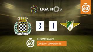 Liga NOS (31ªJ): Resumo Flash Boavista FC 3-1 Moreirense FC