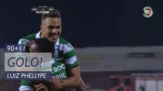 GOLO! Sporting CP, Luiz Phellype aos 90'+11', GD Chaves 1-3 Sporting CP