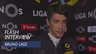 Liga (31ª): Flash Interview Bruno Lage
