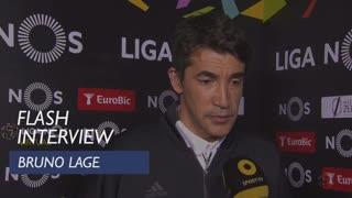 Liga (31ª): Flash Interview Bruno Lage