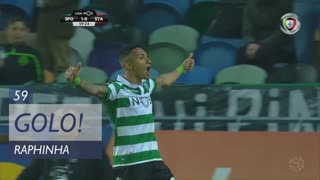 GOLO! Sporting CP, Raphinha aos 59', Sporting CP 1-0 Sta. Clara