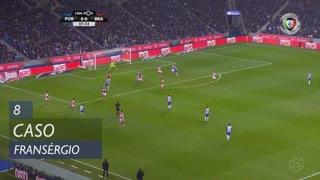 SC Braga, Caso, Fransérgio aos 8'
