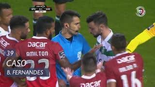 Sporting CP, Caso, Bruno Fernandes aos 39'