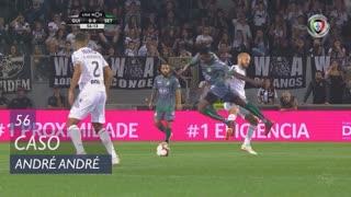 Vitória SC, Caso, André André aos 56'
