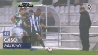 Portimonense, Caso, Paulinho aos 49'