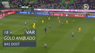 Sporting CP, Golo Anulado, Bas Dost aos 18'