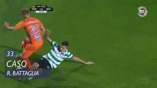 Sporting CP, Caso, Rodrigo Battaglia aos 33'