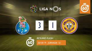 Liga NOS (16ªJ): Resumo Flash FC Porto 3-1 CD Nacional
