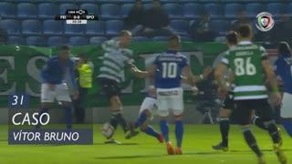 CD Feirense, Caso, Vítor Bruno aos 31'
