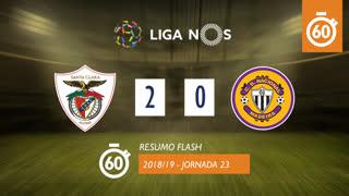 Liga NOS (23ªJ): Resumo Flash Santa Clara 2-0 CD Nacional