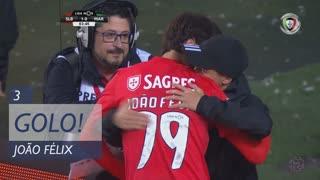 GOLO! SL Benfica, João Félix aos 3', SL Benfica 1-0 Marítimo M.