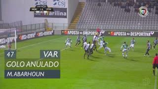 Moreirense FC, Golo Anulado, M. Abarhoun aos 47'