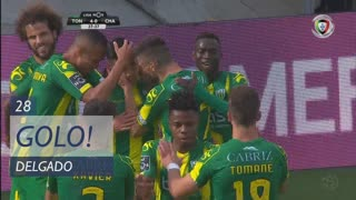 GOLO! CD Tondela, Delgado aos 28', CD Tondela 4-0 GD Chaves