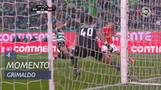 SL Benfica, Jogada, Grimaldo aos 4'