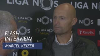 Liga (14ª): Flash interview Marcel Keizer