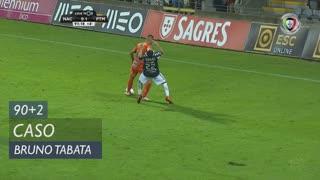 Portimonense, Caso, Bruno Tabata aos 90'+2'
