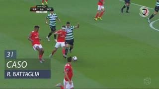 Sporting CP, Caso, Rodrigo Battaglia aos 31'