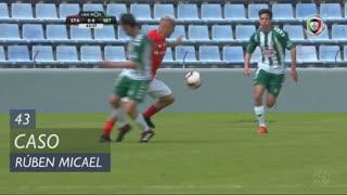 Vitória FC, Caso, Rúben Micael aos 43'