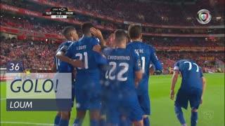 GOLO! Moreirense FC, Loum aos 36', SL Benfica 1-3 Moreirense FC