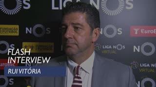 Liga (8ª): Flash interview Rui Vitória