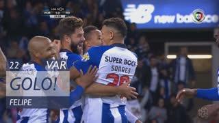 GOLO! FC Porto, Felipe aos 22', FC Porto 1-0 CD Feirense