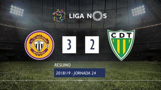 Liga NOS (24ªJ): Resumo CD Nacional 3-2 CD Tondela