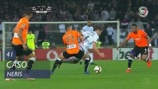 Boavista FC, Caso, Neris aos 41'