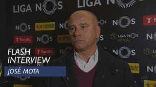 Liga (15ª): Flash interview José Mota