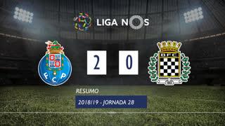 Liga NOS (28ªJ): Resumo FC Porto 2-0 Boavista FC
