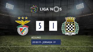 Liga NOS (19ªJ): Resumo SL Benfica 5-1 Boavista FC
