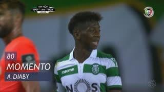 Sporting CP, Jogada, A. Diaby aos 80'