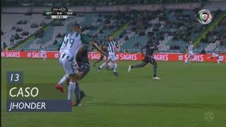 Vitória FC, Caso, Jhonder aos 13'