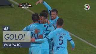GOLO! SC Braga, Paulinho aos 66', CD Aves 0-2 SC Braga