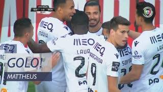 GOLO! Vitória SC, Mattheus aos 7', Vitória SC 1-0 Boavista FC