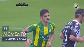 CD Tondela, Jogada, Ricardo Costa aos 61'