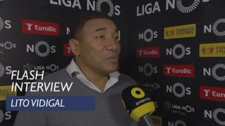 Liga (25ª): Flash Interview Lito Vidigal