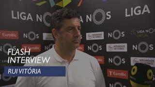 Liga (6ª): Flash interview Rui Vitória