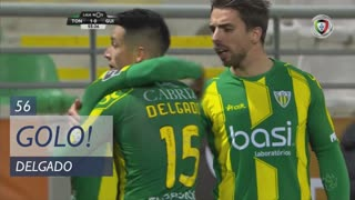 GOLO! CD Tondela, Delgado aos 56', CD Tondela 1-0 Vitória SC